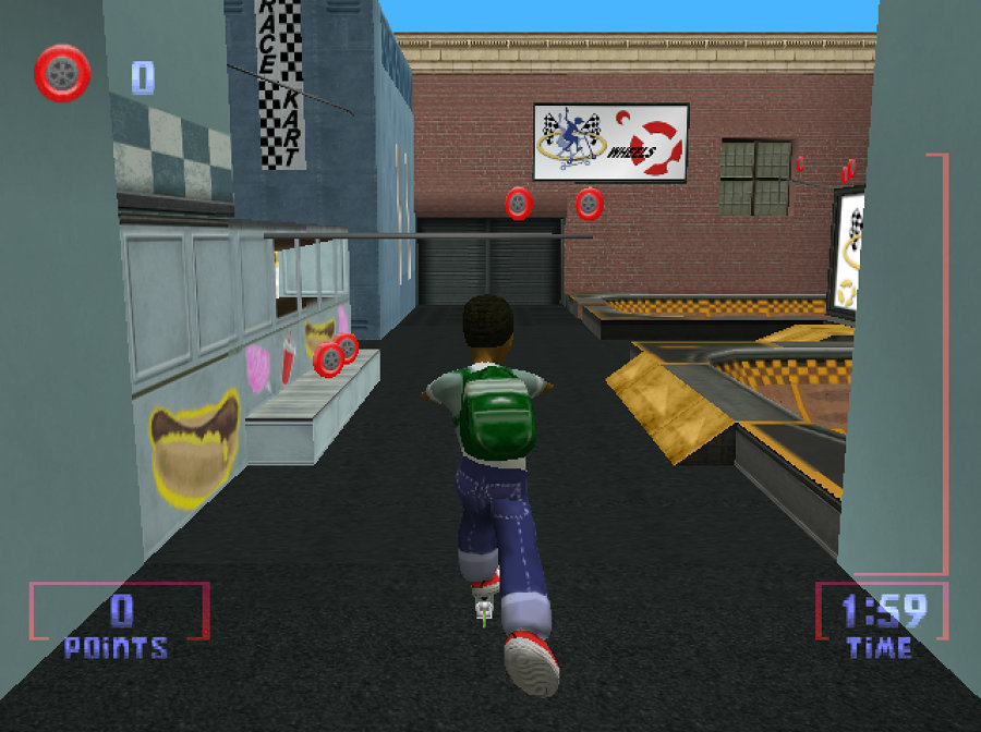 Titanium Studios - Razor Freestyle Scooter Dreamcast & Nintendo 64